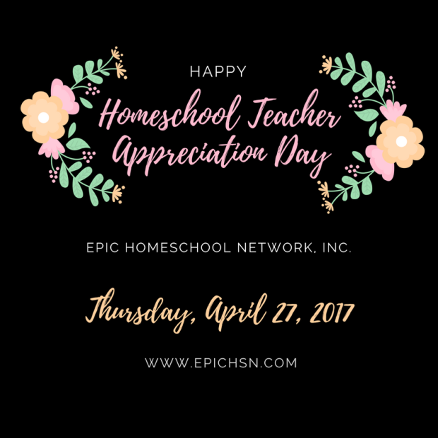 homeschool teacher appreciation