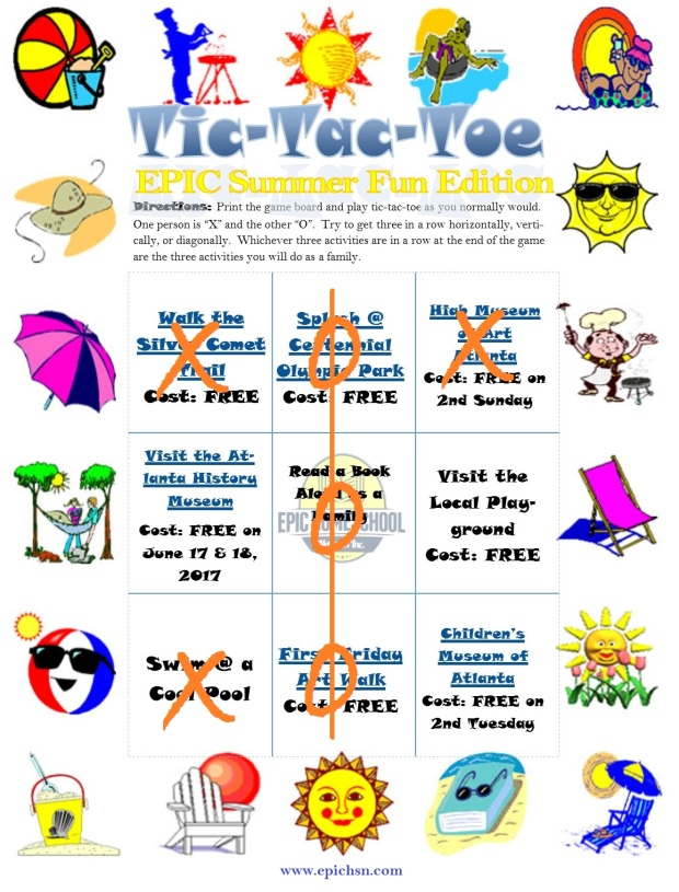 EPIC Summer Bucket List