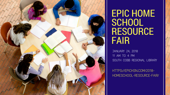 EPIC HOMESCHOOL RESOURCE FAIR